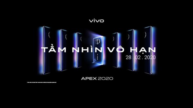 """vivo APEX 2020 mở ra """"Tầm Nhìn Vô Hạn"""""""