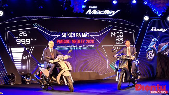 Piaggio Medley 2020: Thiết kế mới, công nghệ mới
