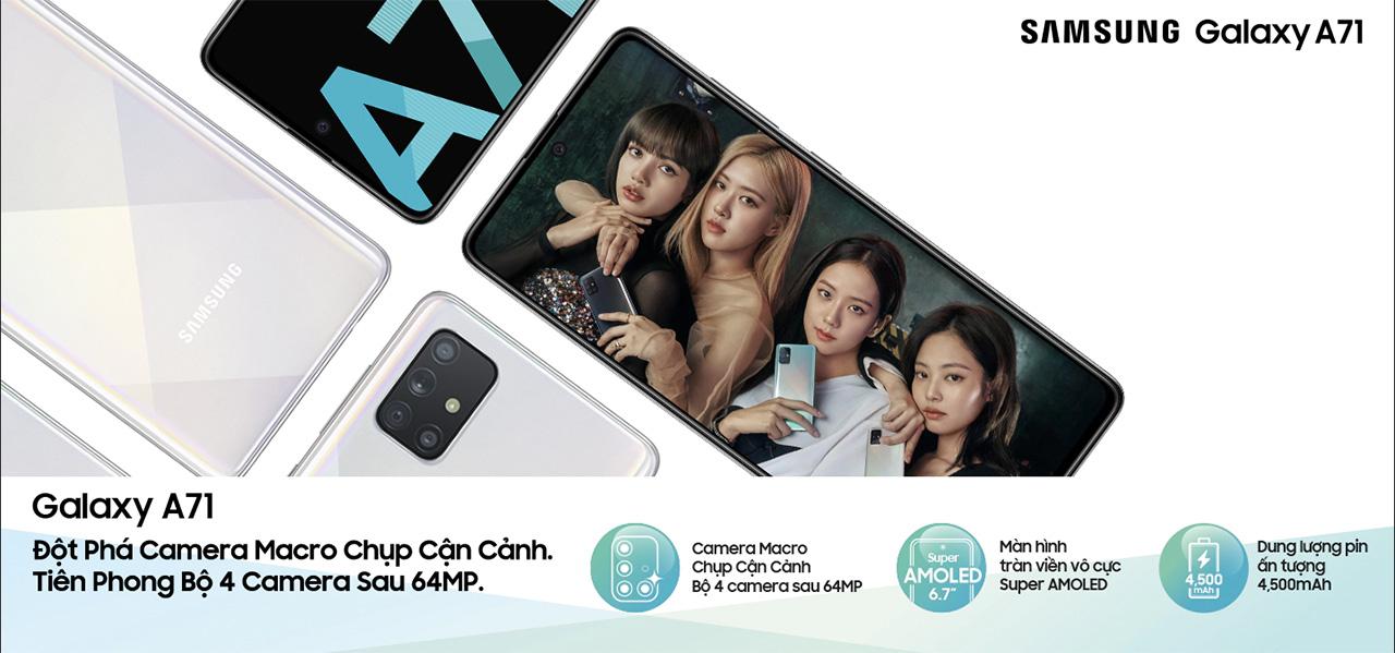 Trải nghiệm nhanh camera 64MP trên Galaxy A71