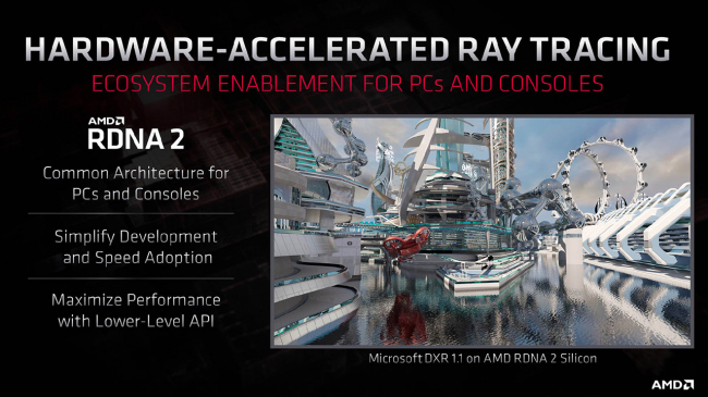 AMD cũng đã có Ray Tracing