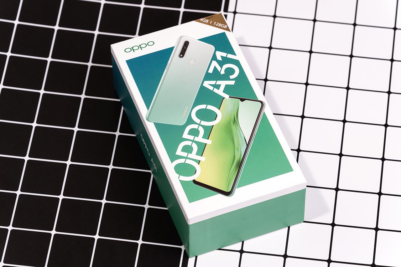 Mở hộp OPPO A31: Bộ nhớ thách thức giới hạn