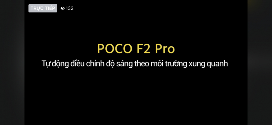 Toàn cảnh sự kiện ra mắt POCO F2 Pro chiều nay