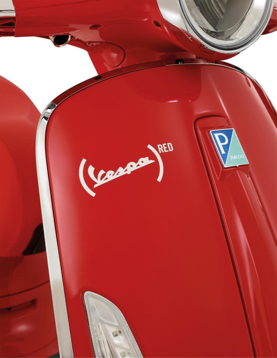 Vespa Primavera Red 125: một chiếc xe tuyệt đẹp mang đậm ý nghĩa cao cả