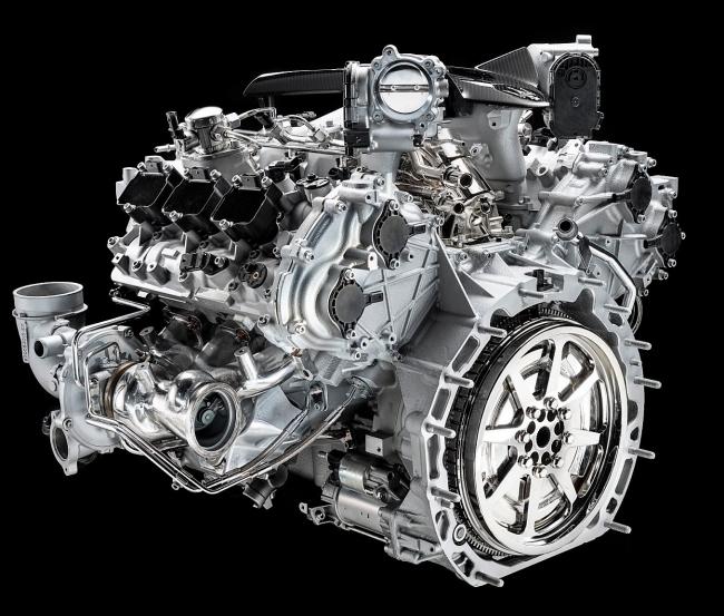 Maserati Nettuno Động cơ F1 cho xe thương mại
