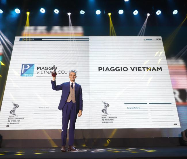 Piaggio Việt Nam tiếp tục được vinh danh là nơi làm việc tốt ...