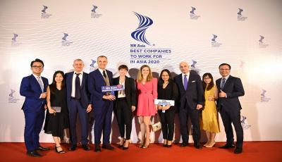 Piaggio Việt Nam tiếp tục được vinh danh là nơi làm việc tốt nhất châu Á