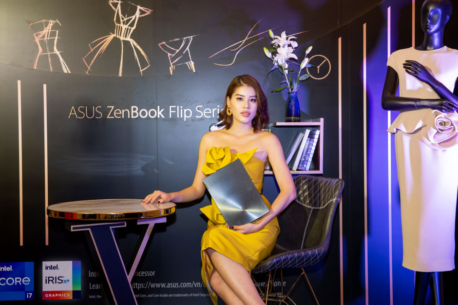 Cùng chiêm ngưỡng vẻ đẹp của ASUS Zenbook Flip Series