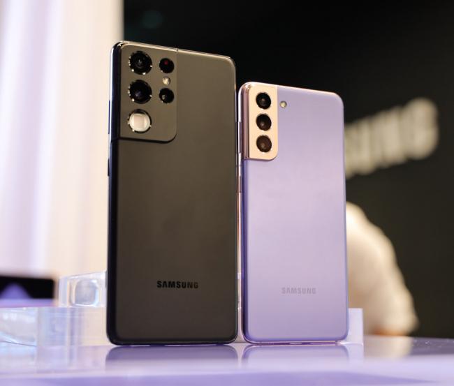 """Trên tay Galaxy S21, S21 Ultra: bộ đôi flagship """"toàn tài"""""""