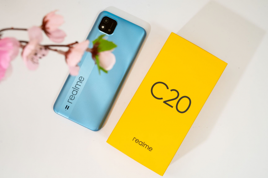 Hình ảnh thực tế chiếc C20 - smartphone mới nhất của Realme
