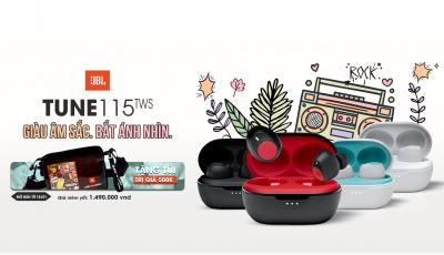 JBL Tune 115TWS: chiếc tai nghe có giá 'thơm' nhất thị trường