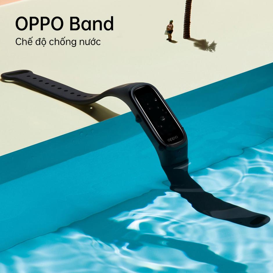 OPPO Band: theo dõi sức khỏe toàn diện