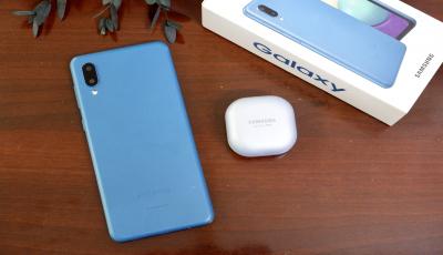 Galaxy A02, đơn giản và bền bỉ, đáp ứng tốt nhu cầu của người dùng