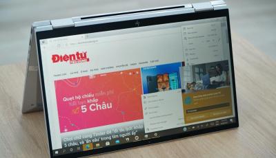 Đánh giá HP EliteBook x360 1030 G8: Cộng sự đa tài cho các doanh nhân đón đầu xu hướng