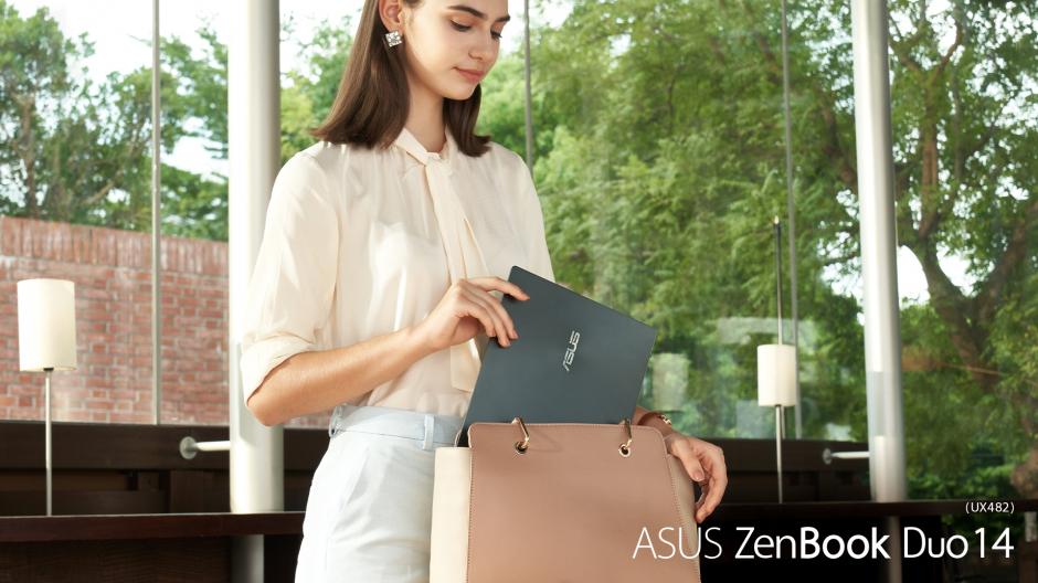 Cùng chiêm ngưỡng chiếc ZenBook 2 màn hình mới nhất nhà ASUS, tuyệt tác di động mới