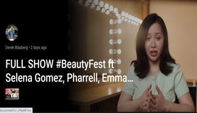 """Có thể bạn chưa biết?  """"YOUTUBE BEAUTY FESTIVAL"""" nơi hội tụ những biểu tượng hàng đầu của ngành làm đẹp"""
