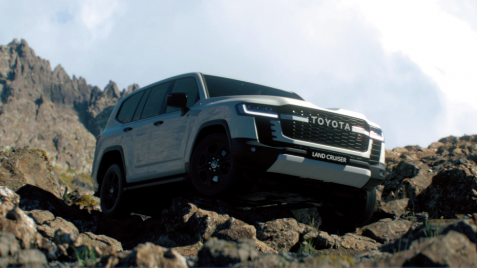 Toyota Land Cruiser thế hệ hoàn toàn mới