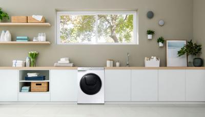 Không gian sống Đẹp nhà cùng máy giặt Samsung AI