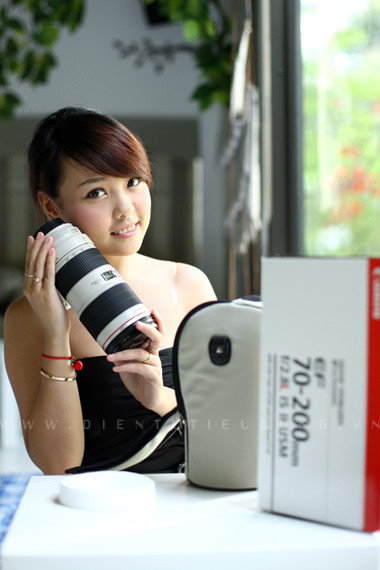 Canon EF 70-200 f2.8L IS II USM