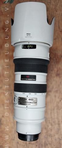 Nikon 70-200mm f2.8G VR ED