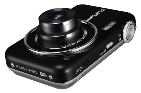 Samsung ST80 được tích hợp wifi trong thân máy