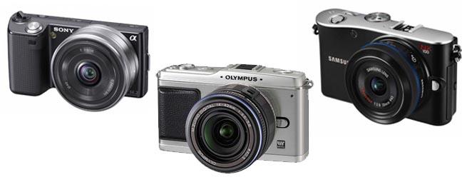 Mirrorless, Micro Four Third, Hybrid Camera