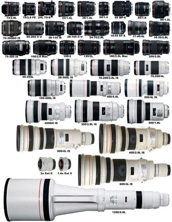 DSLR, lens