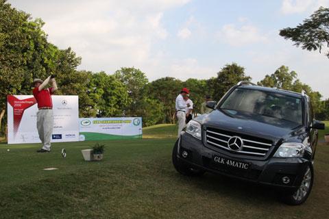 Khai mạc giải Golf MercedesTrophy 2010