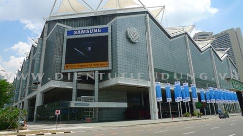 triển lãm Samsung