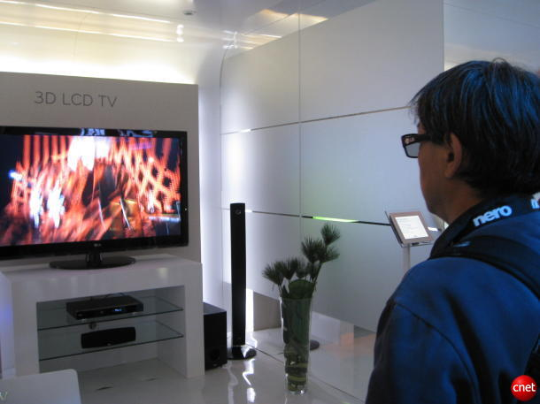 kềnh truyền hình 3D