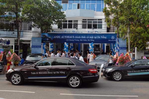 Khai trương Mercedes-Benz An Du tại Đà Nẵng