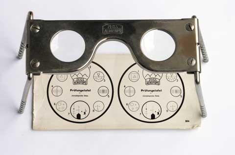 kính xem ảnh nổi stereoscope