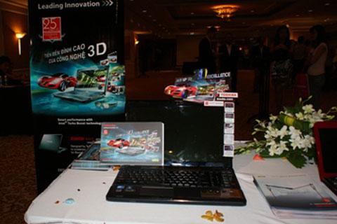 Laptop hỗ trợ màn hình 3D Satelitte A665