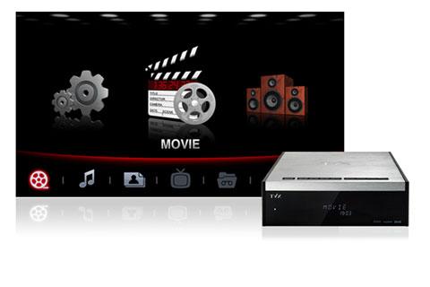 Thị trường thiết bị phát HD trở nền sôi động hơn. Ảnh: TViX