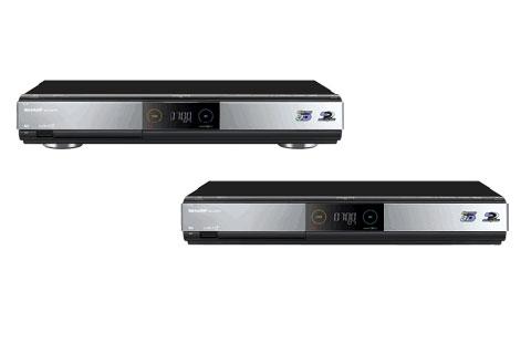 Sharp AQuos BD-HDW700 và BD-HDW70