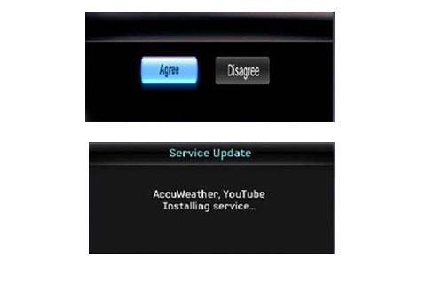 Cài đặt kết nối internet cho TV
