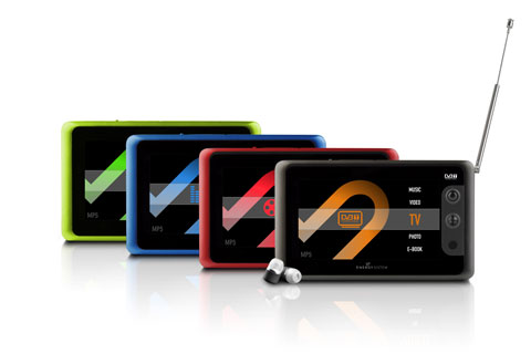 MP5 Players – Touch TV- out Series 52