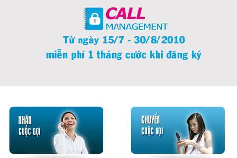 Call management- một trong những dịch vụ mới của vinaphone
