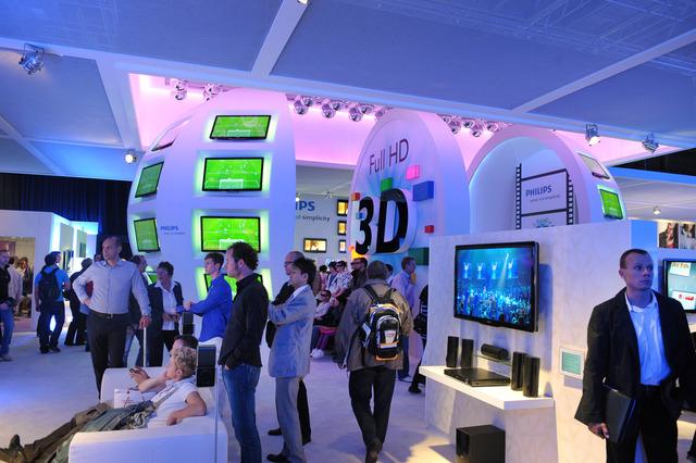 TV 3D chiếm lĩnh IFA 2010