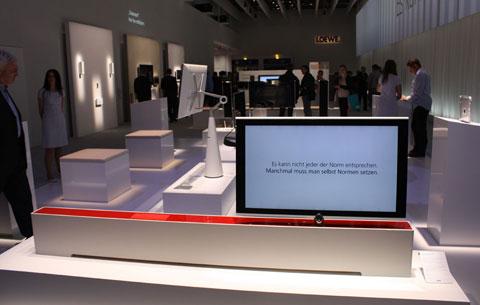 concept TV mới của Loewe