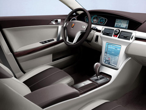 Roewe 350, android