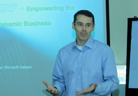 Microsoft,  Microsoft,  Microsoft Dynamics AX 2012, PR-news