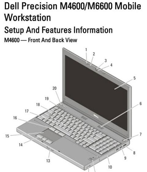 Dell Precion M4600 và M6600