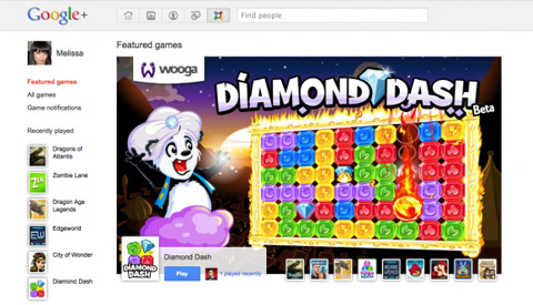 Google, Google+, Game app, App-News, Web-news