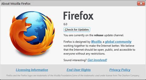 Mozilla, Firefox 6, Web-News