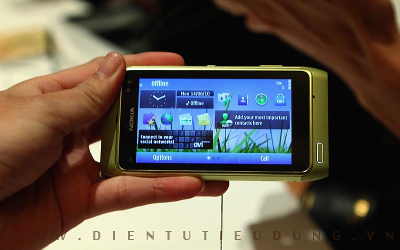 Nokia N8 Home Screen