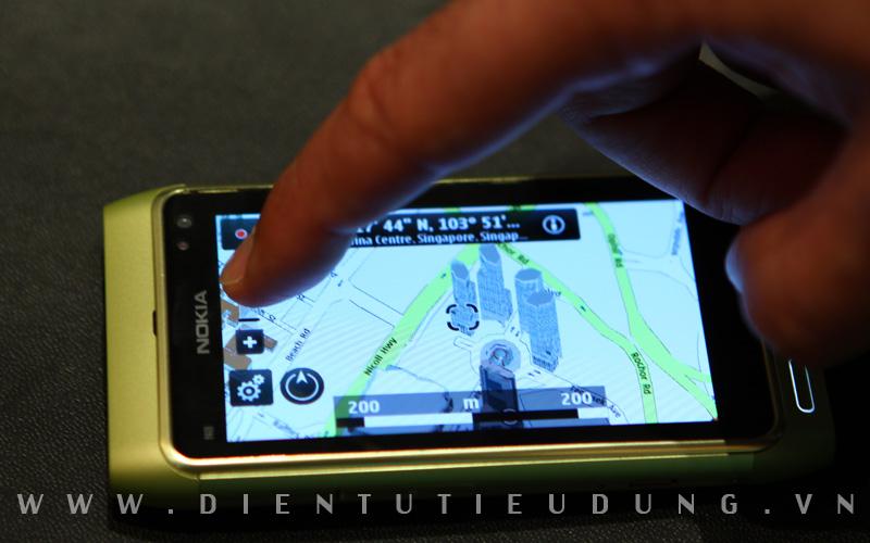 Nokia N8 Map