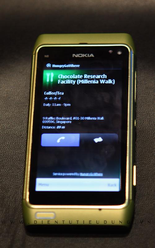 Nokia N8 - HungryGoWhere
