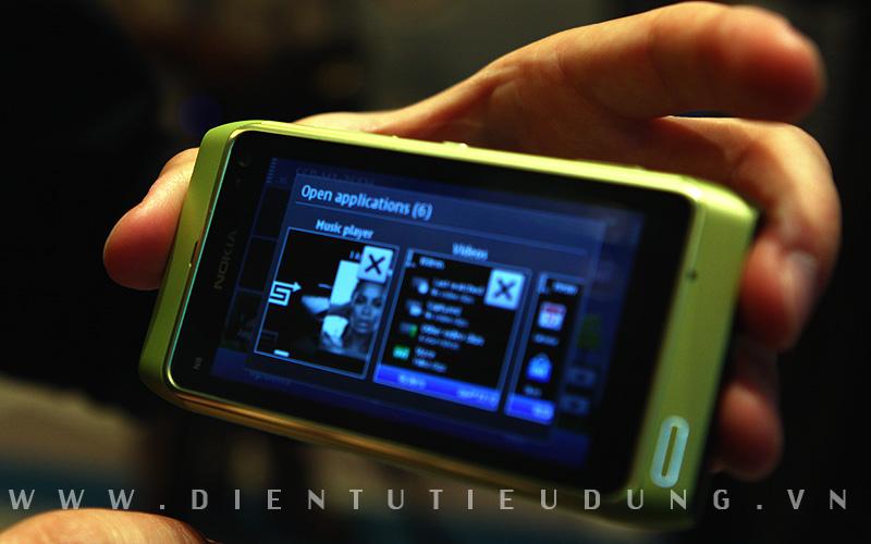 Nokia N8 Multi-tasking