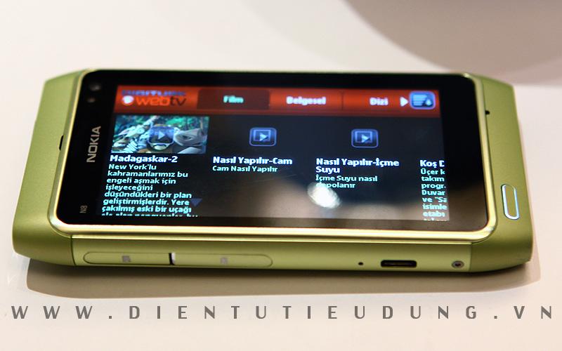Nokia N8 review WebTV