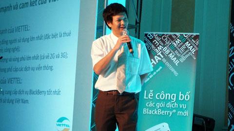 Viettel, BlackBerry, Nguyễn Việt Dũng